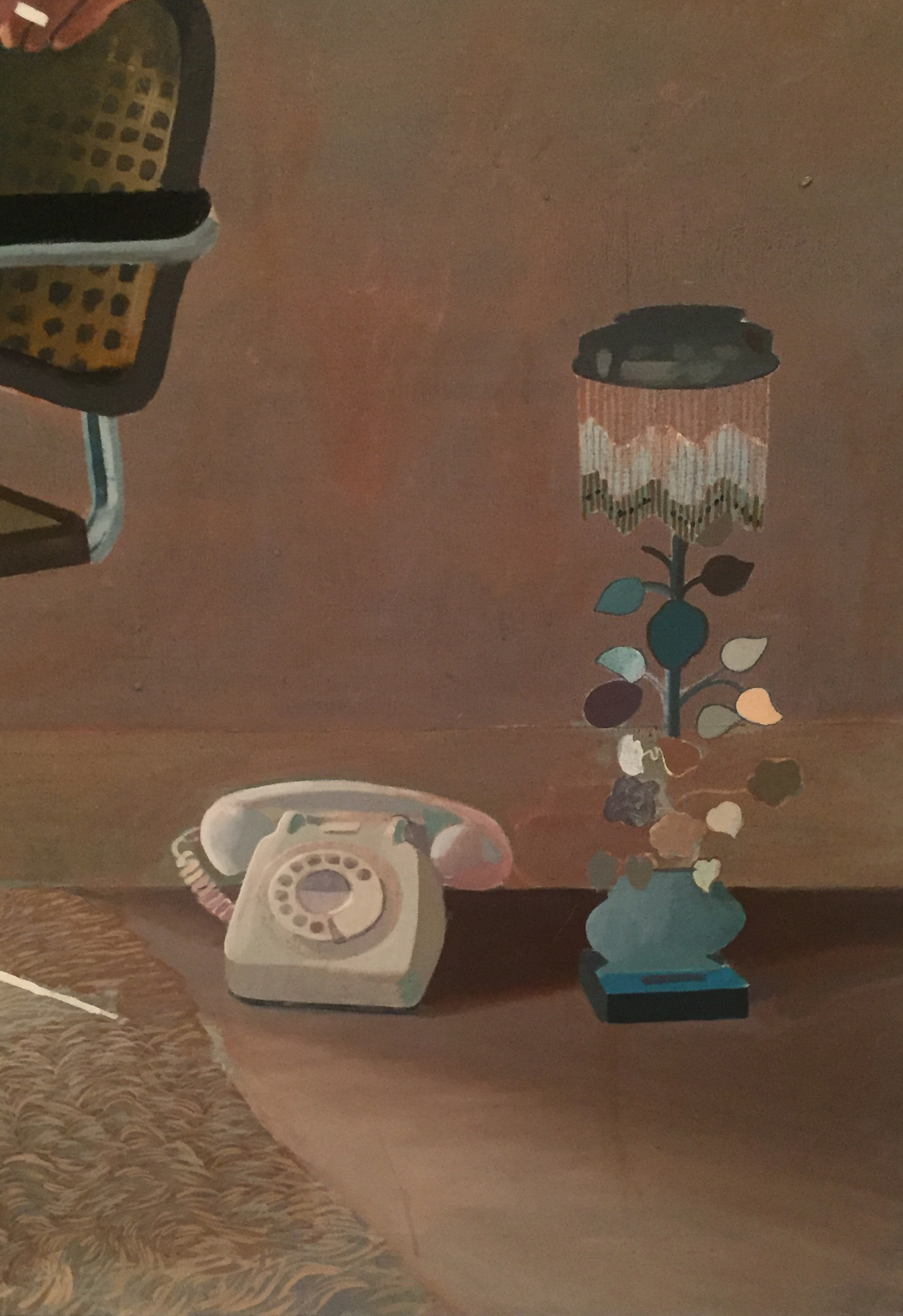 David Hockeny Lamp and Phone.JPG