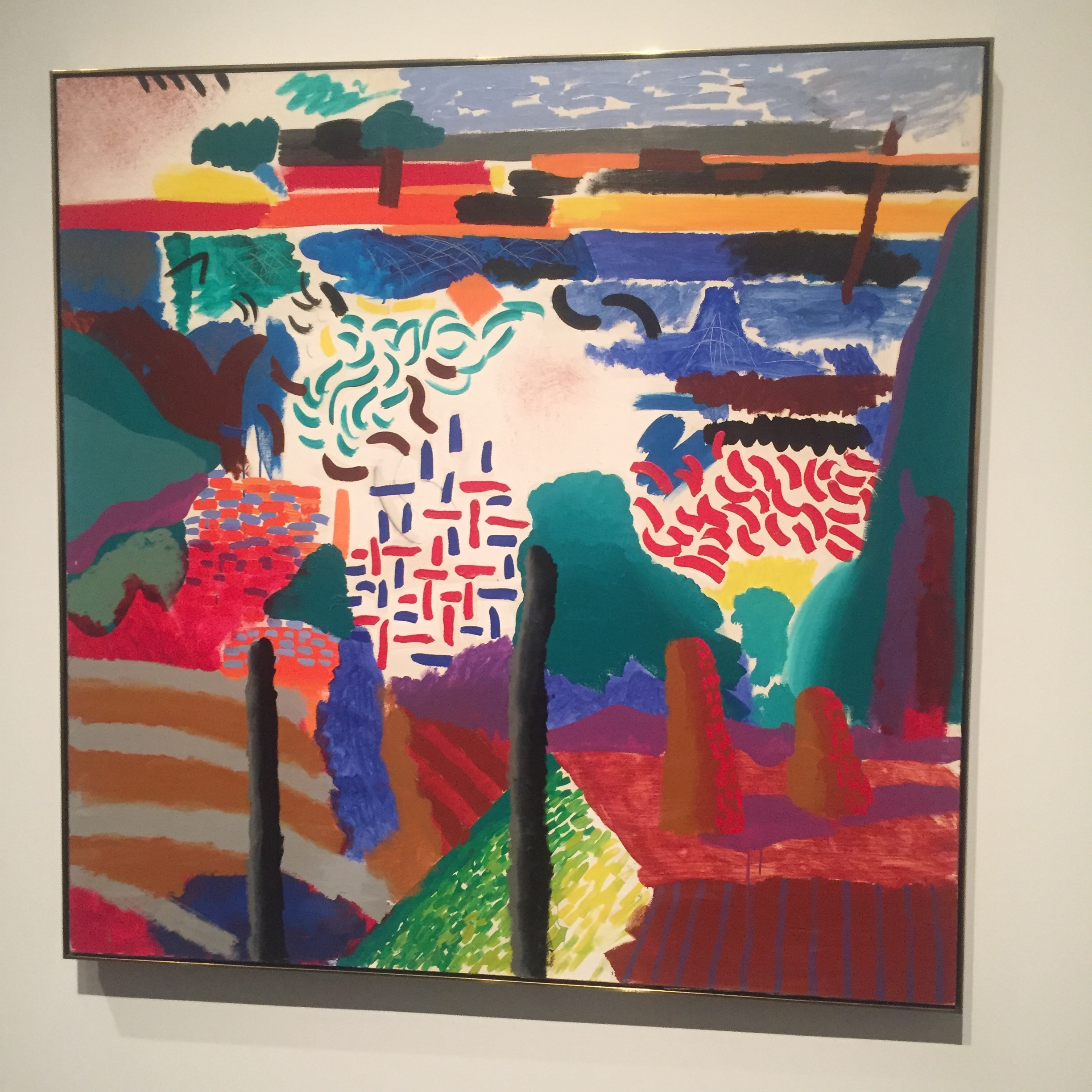 David Hockney Metropolitan Museum of New York Landscape.JPG