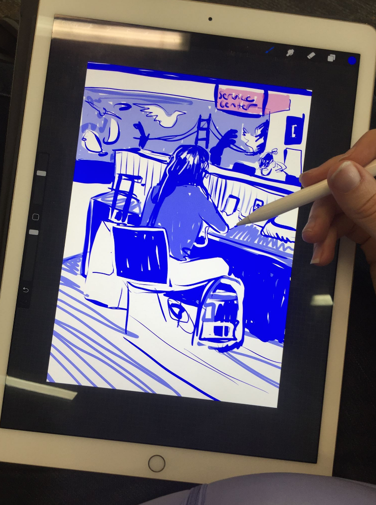 airport drawing ipad pro procreate.png