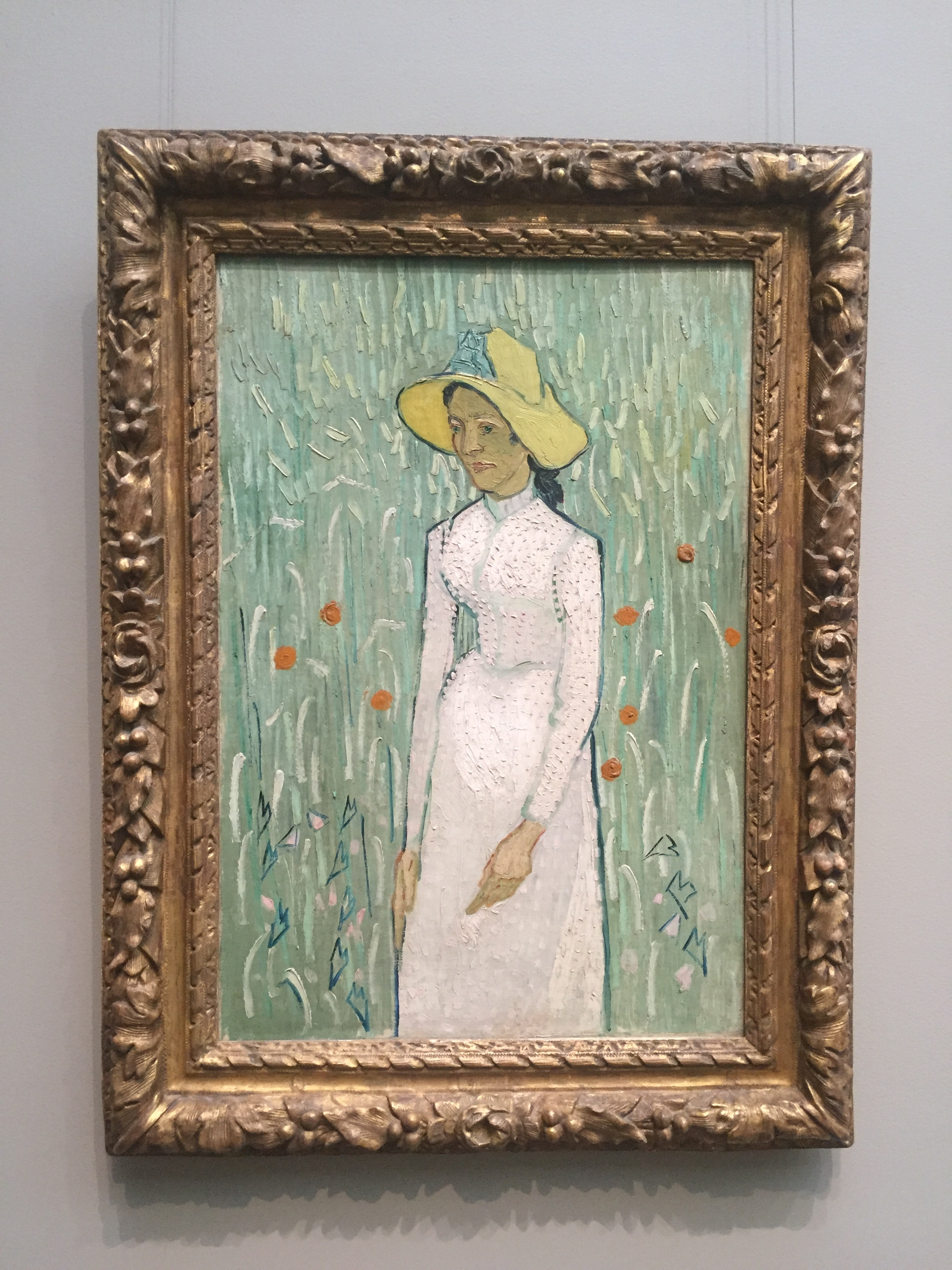 van gogh woman in white.JPG