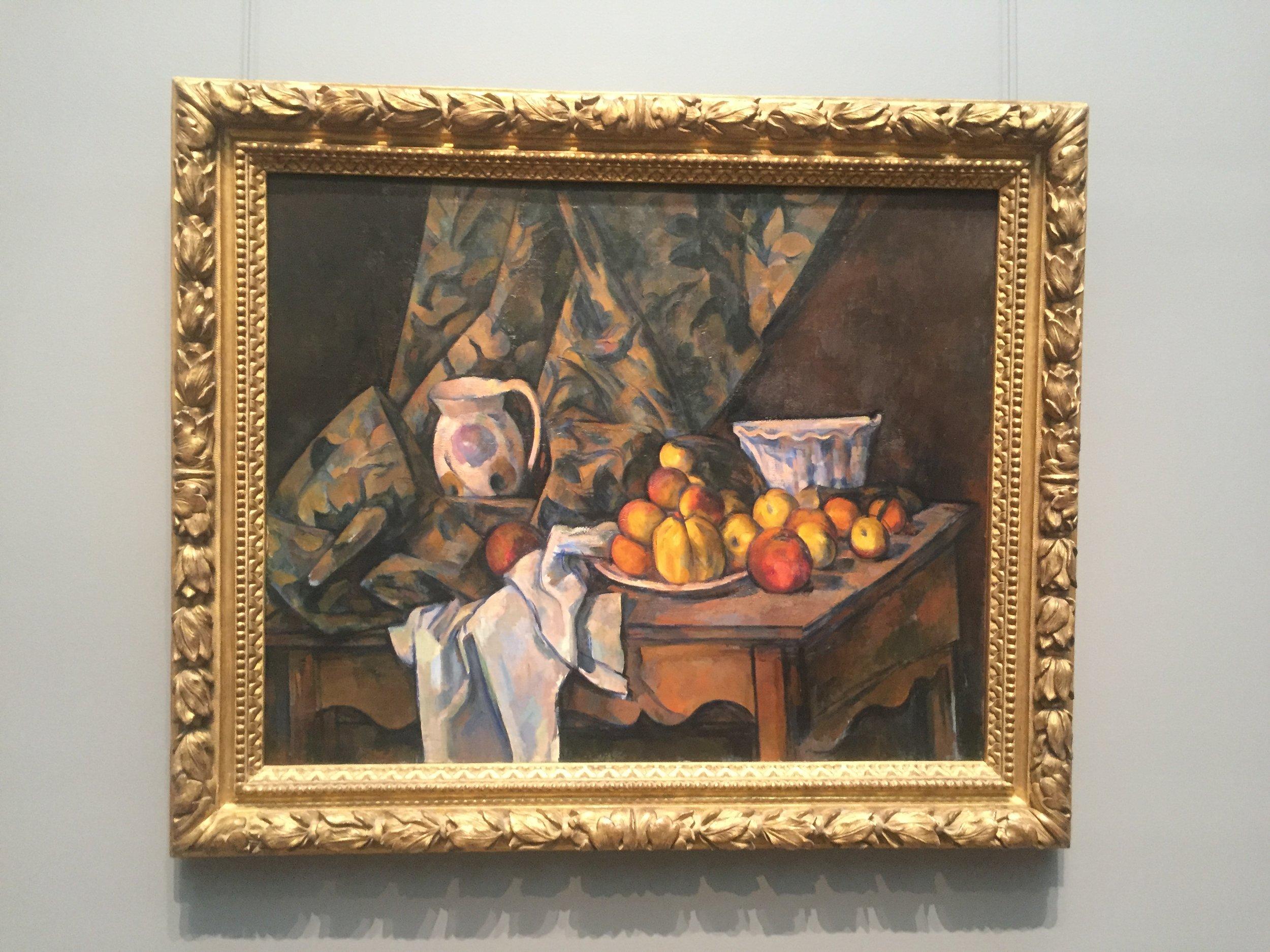 cezanne peaches still life national gallery.JPG