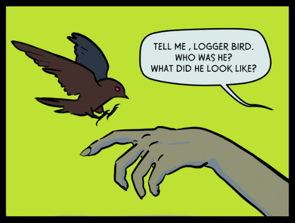 logger bird hands tilted sun.png