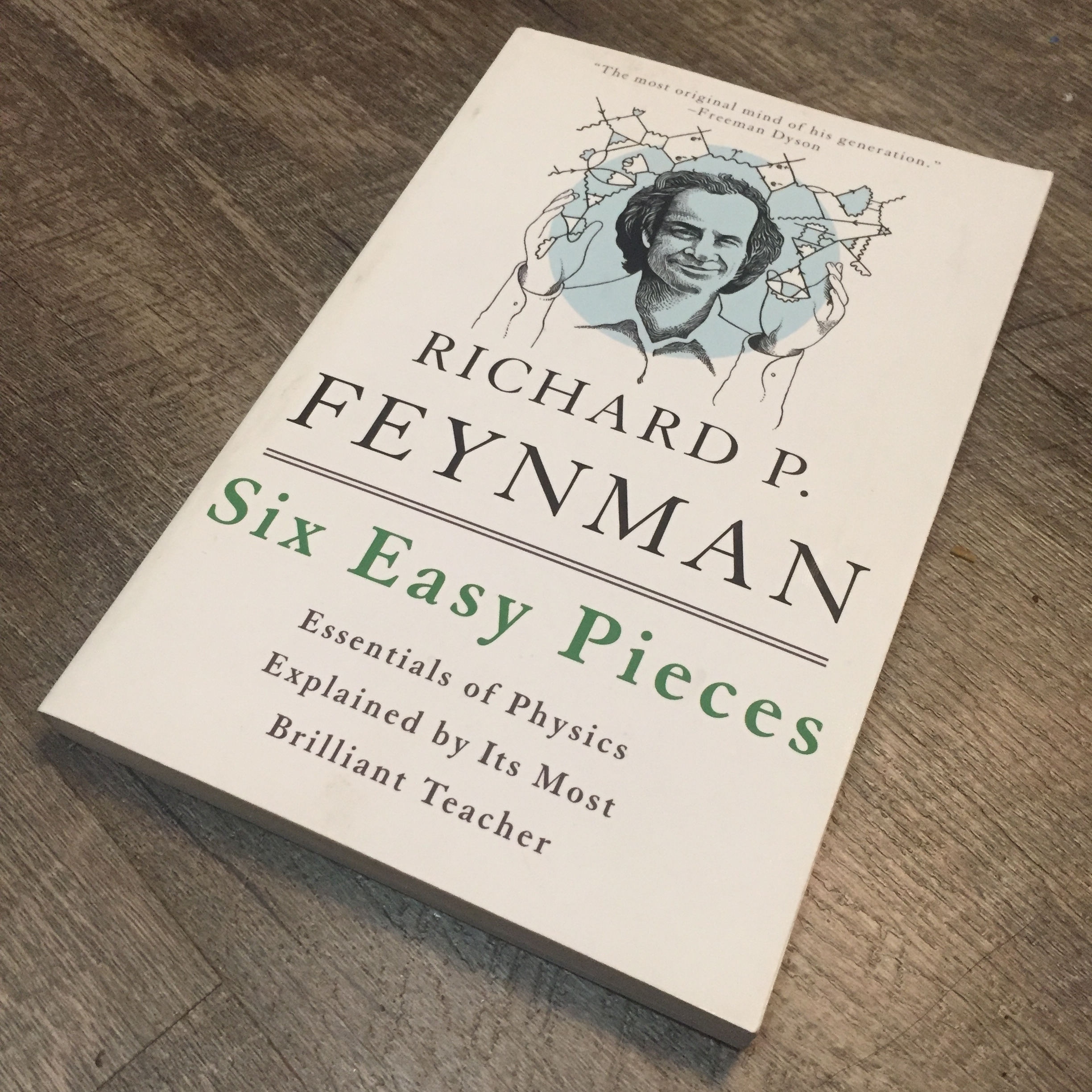 Feynman 6 easy pieces book.JPG