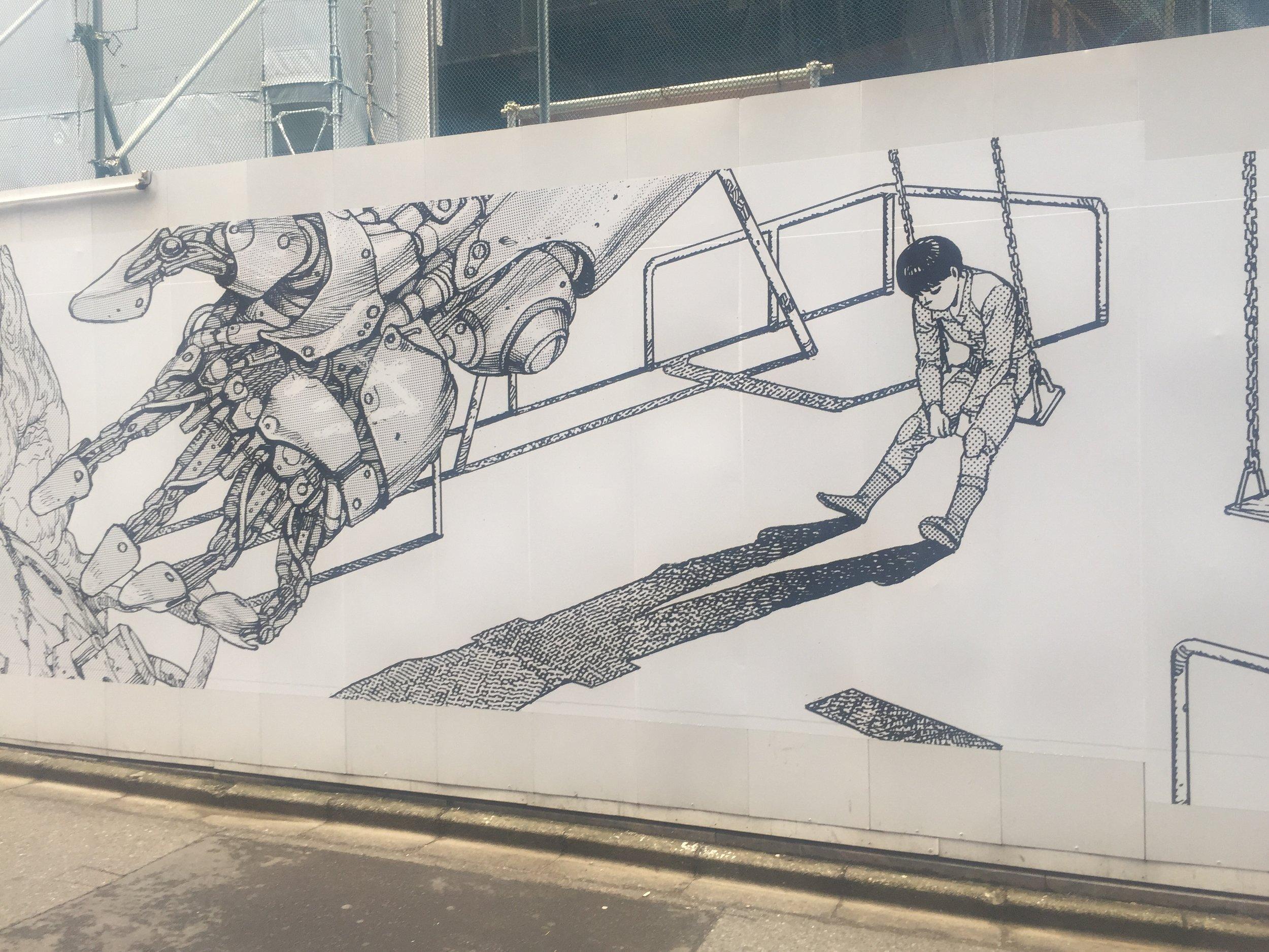 akira construction site display shibuya tokyo.JPG