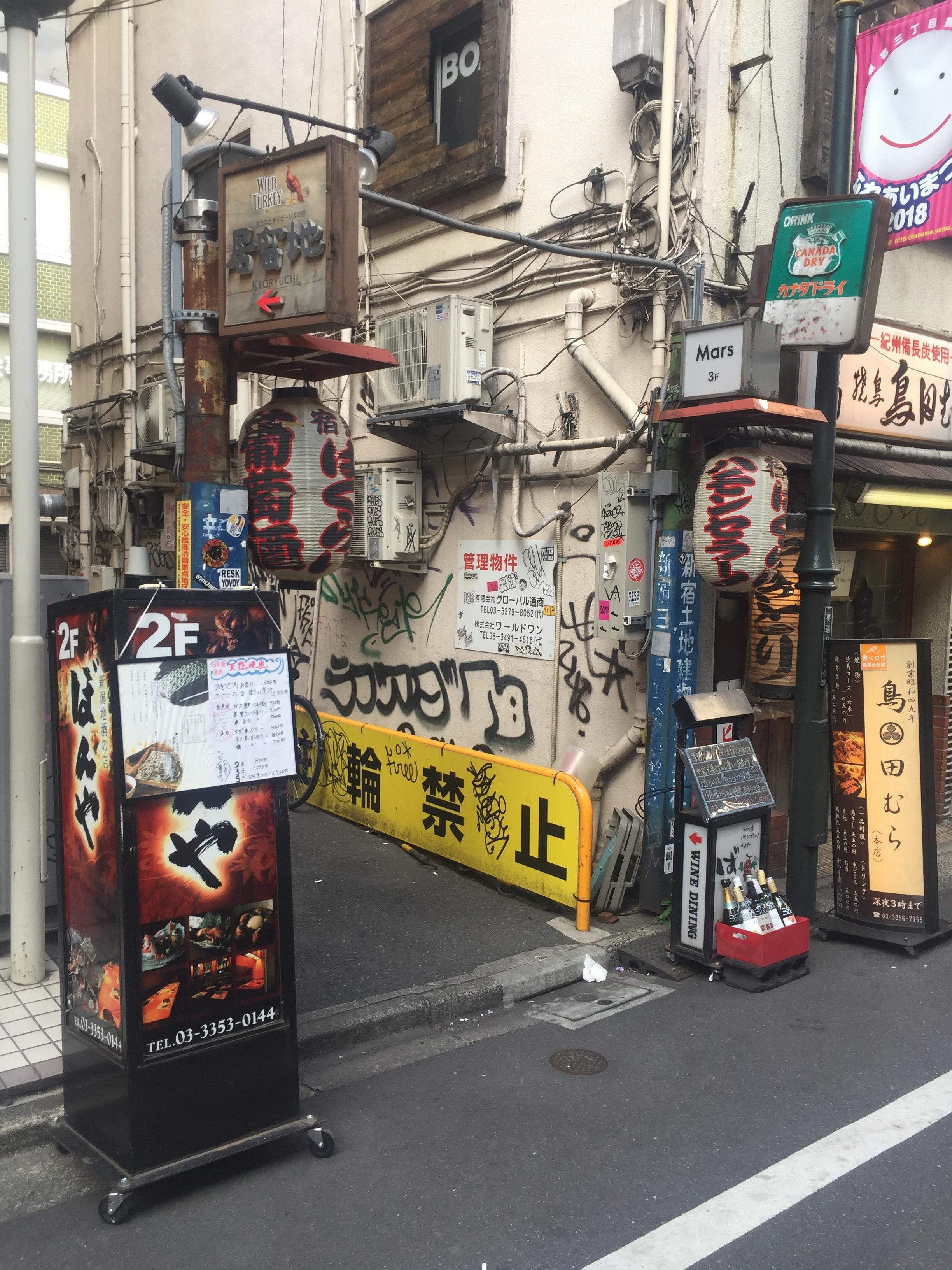 shinjuku graffiti alley tokyo becky jewell.JPG