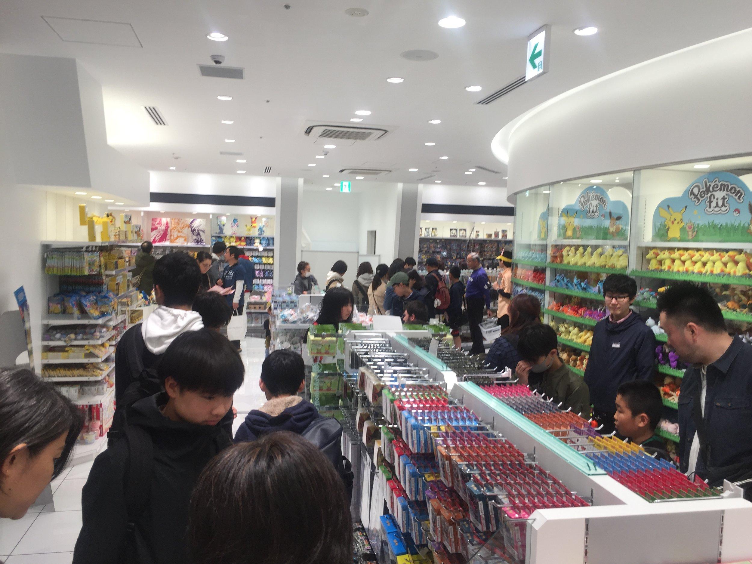 pokemon center tokyo japan 2019 becky jewell.JPG