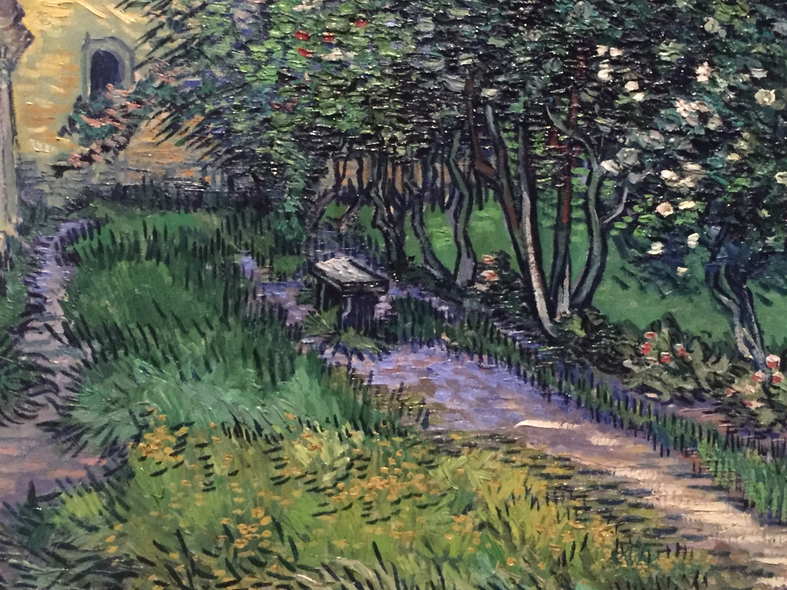 van gogh asylum garden path detail houston.JPG