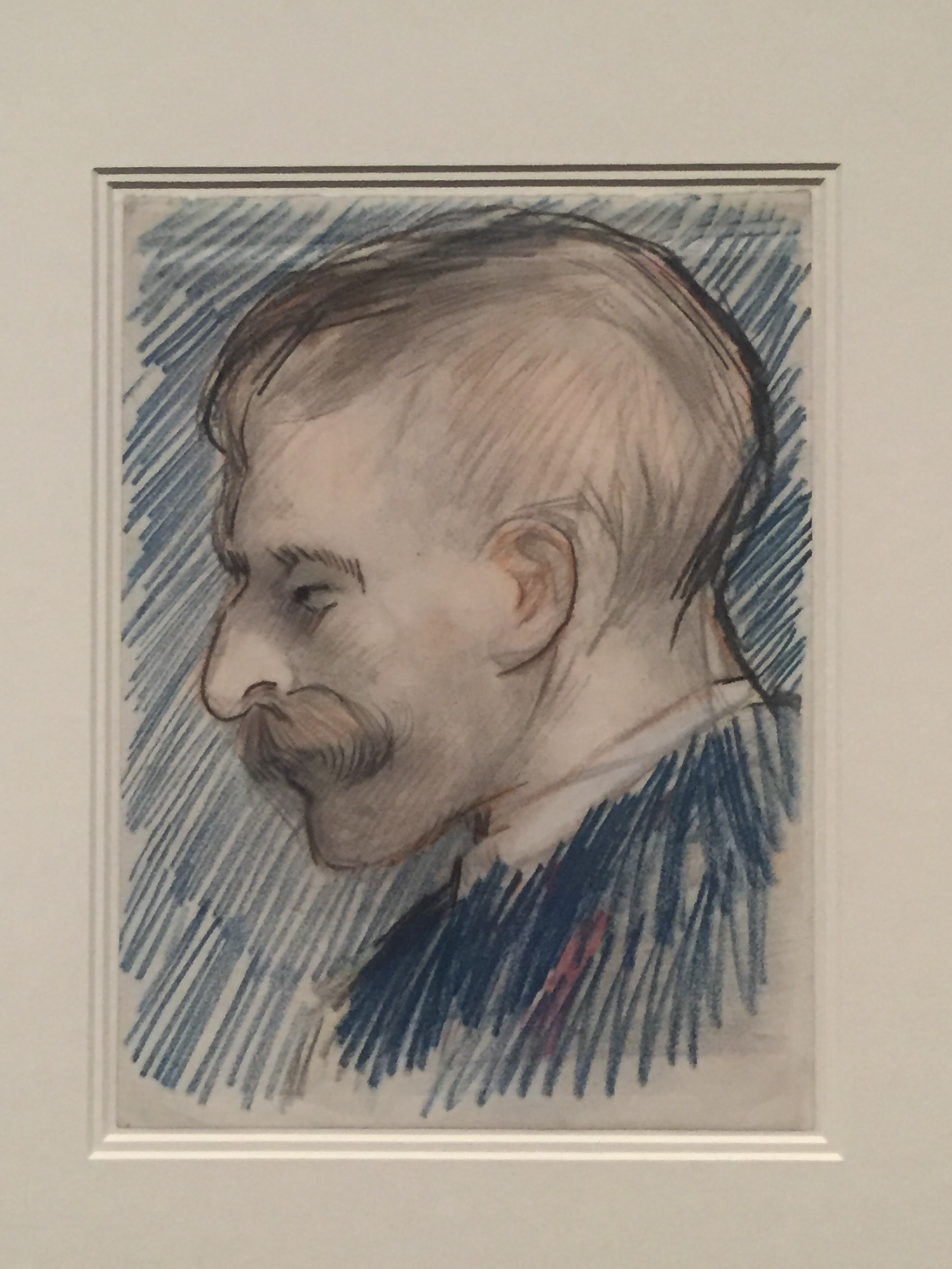 A portrait that is thought to be of Theo, Vincent's beloved younger brother.