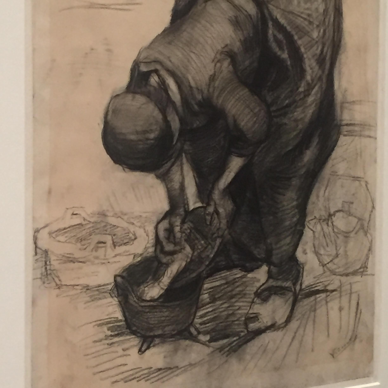 vincent van gogh early charcoal drawing.JPG