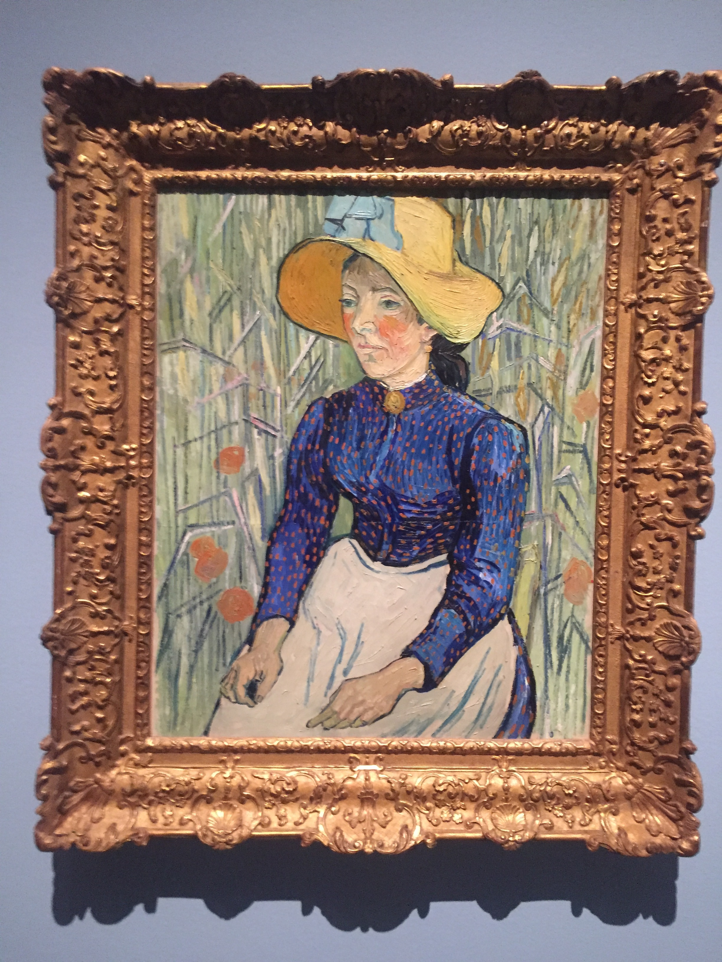 van gogh woman blue shirt.JPG