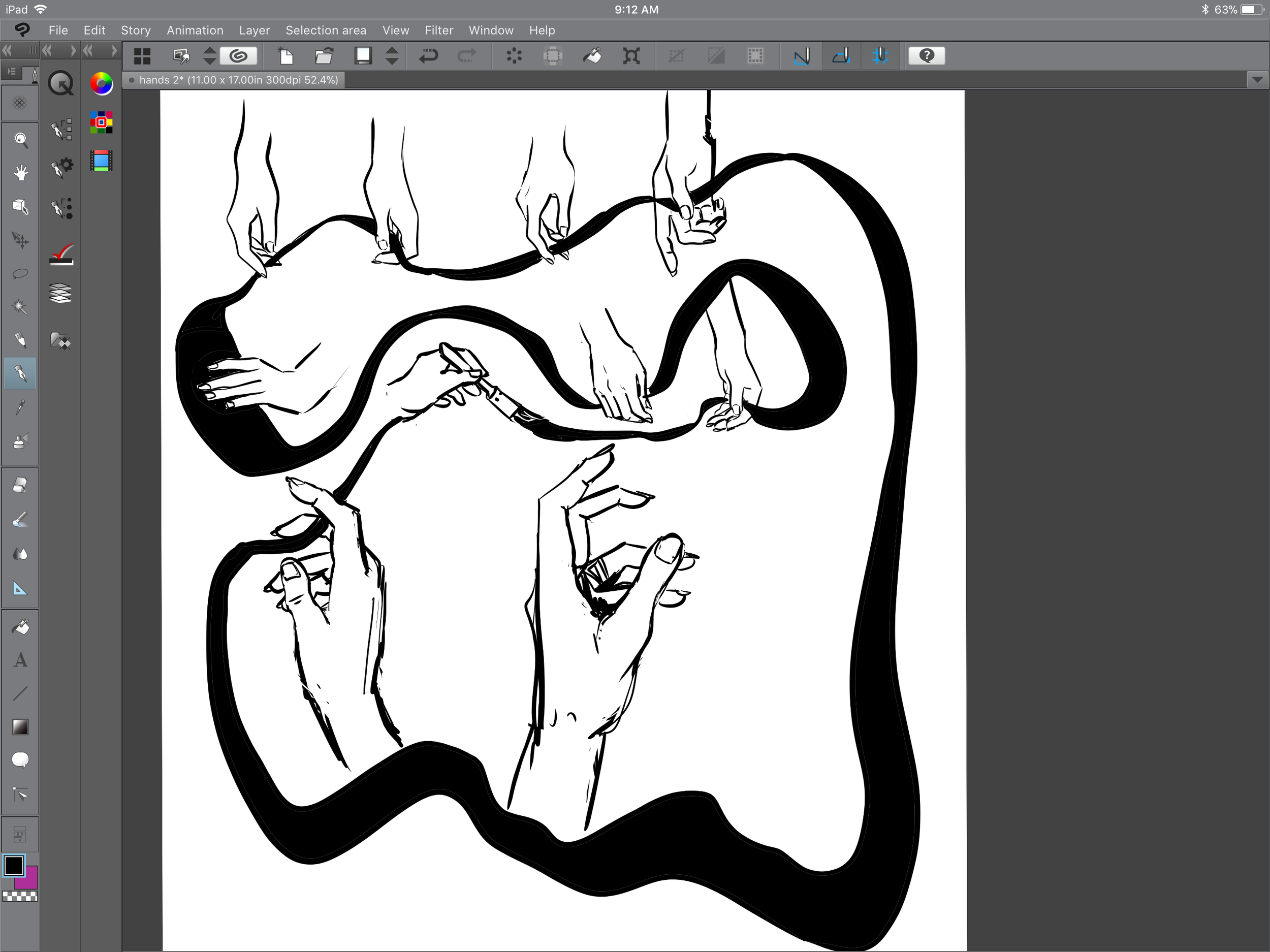 hand drawing ipad pro clip studio paint becky jewell artist.PNG