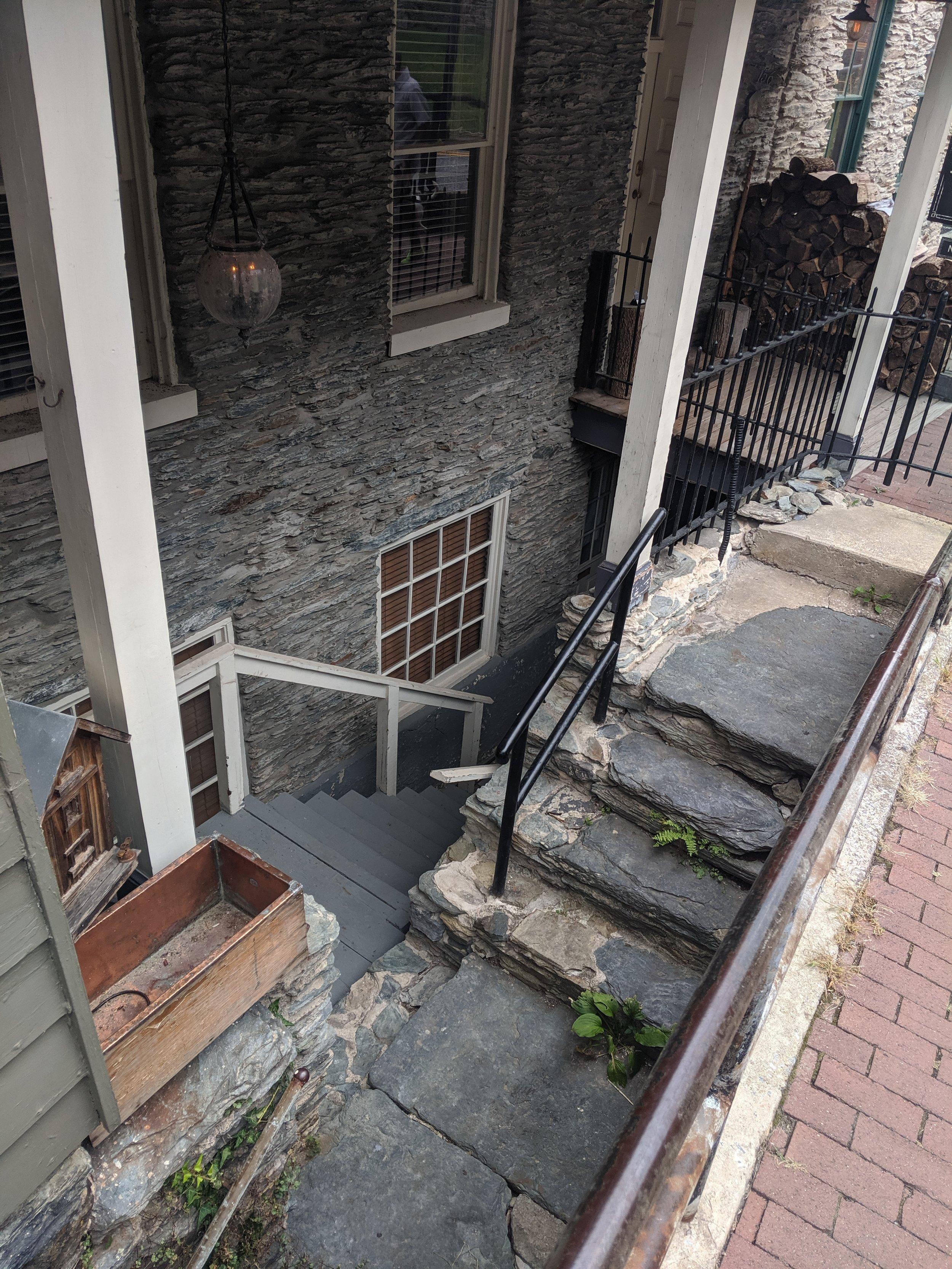 harpers ferry stairwell cobblestones.jpg