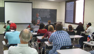 Richard Lair presents at University of Arkansas, Little Rock
