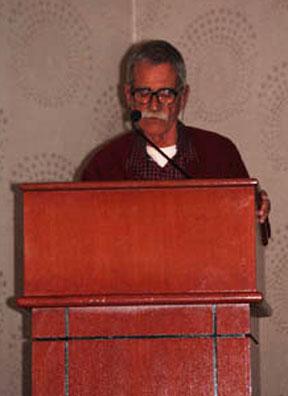Richard presenting at EMA