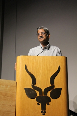 Dr. Sukumar during his presentation