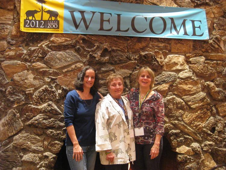 Directors April, Linda, and Sharon.