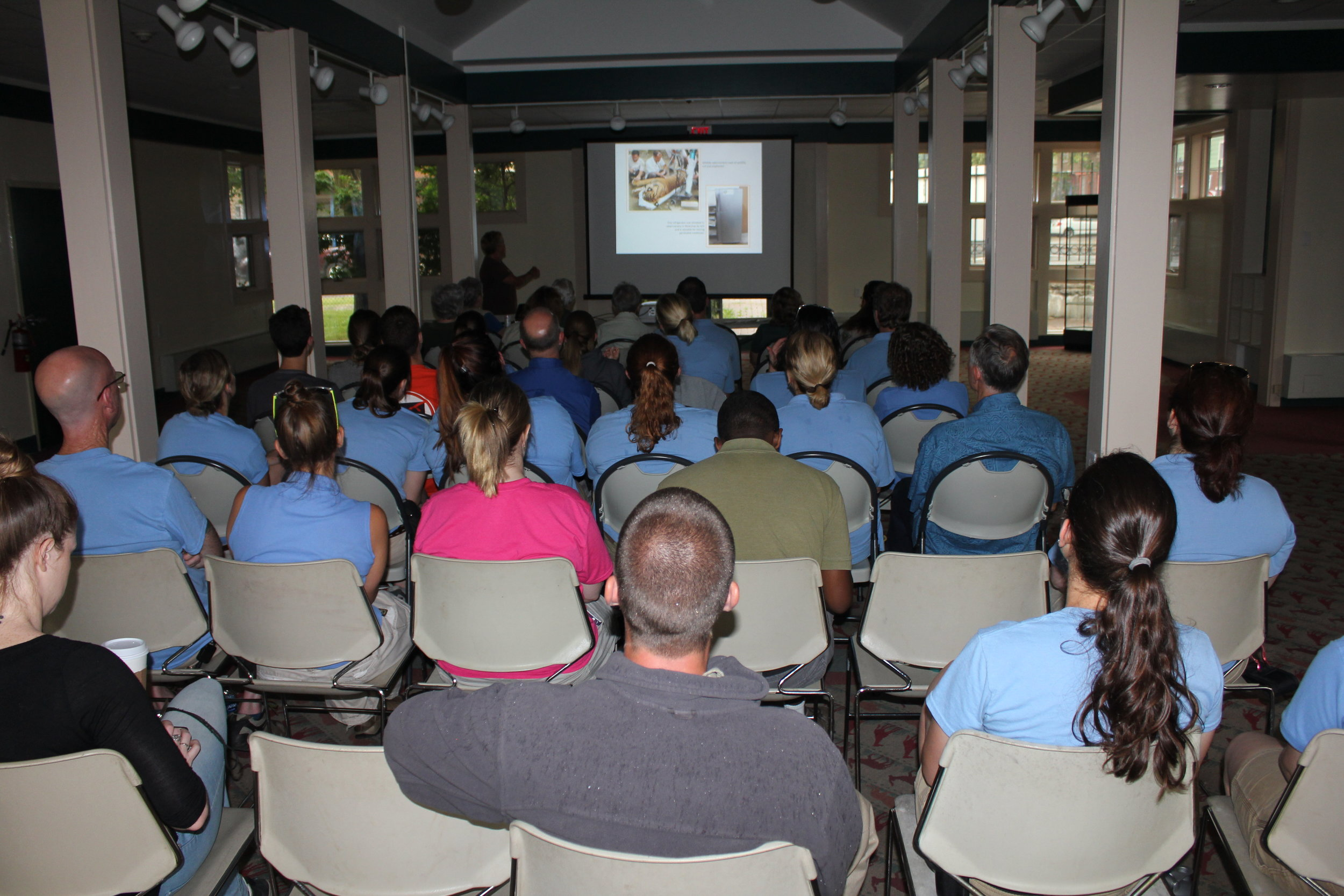 Buffalo Zoo staff & volunteers