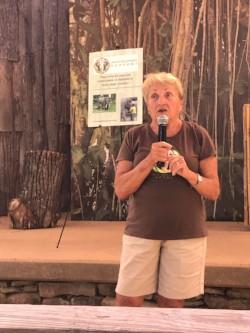 Linda presenting
