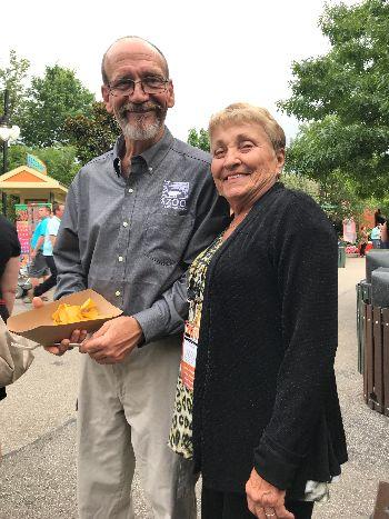 Val Nastold and President Linda Reifschneider