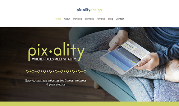 Connie Holen of Pixality Design takes her web content to the next level with Brandography.