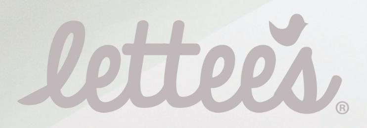 Lettees' original logo.