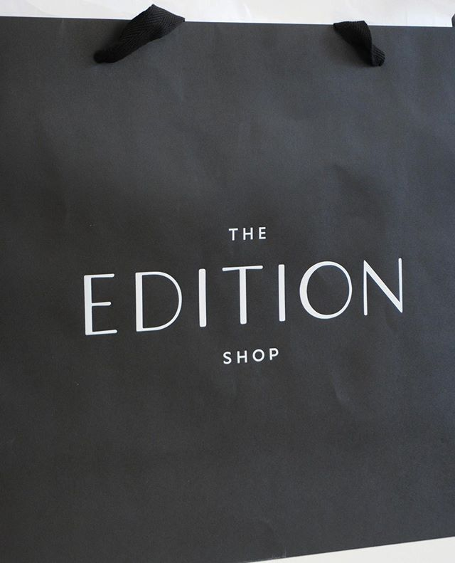 The @edition_savannah logo looking sharp on their large shopping bags. Have you dropped by to shop, yet?? ⁣ ⁣ ⁣ •⁣ •⁣ •⁣ •⁣ • ⁣ #branding #brandingdesign #branding101 #brandingagency #brandingidentity #logodesigner #rebranding #rebrand #identitydesign #dribbblers #dribbble #designstudio #designstudios #designportfolio #brandcontent #brandmarketing #logo  #logomark #identitydesign #logoroom #welovebranding #logo_showcase #identitydesign #logoinspirations #welovebranding #savannahga #savannahgeorgia #retailstoredesign