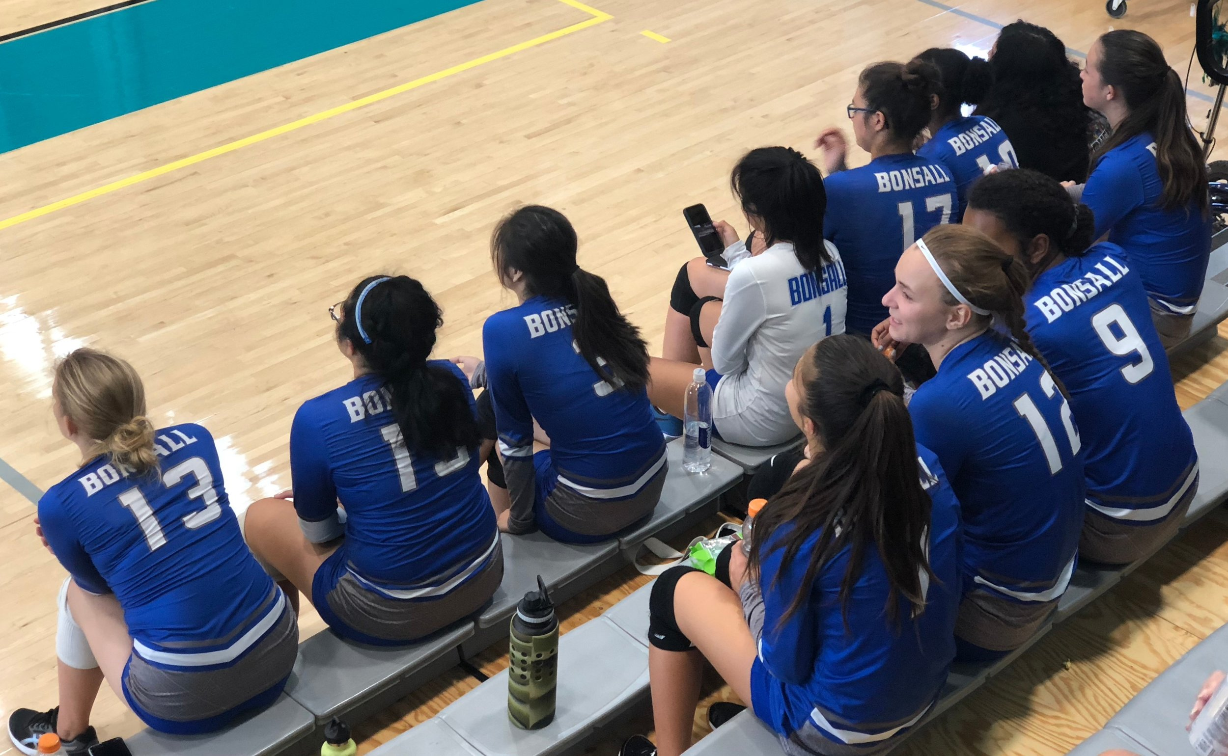 Tournament team scouting, eagle eyes.