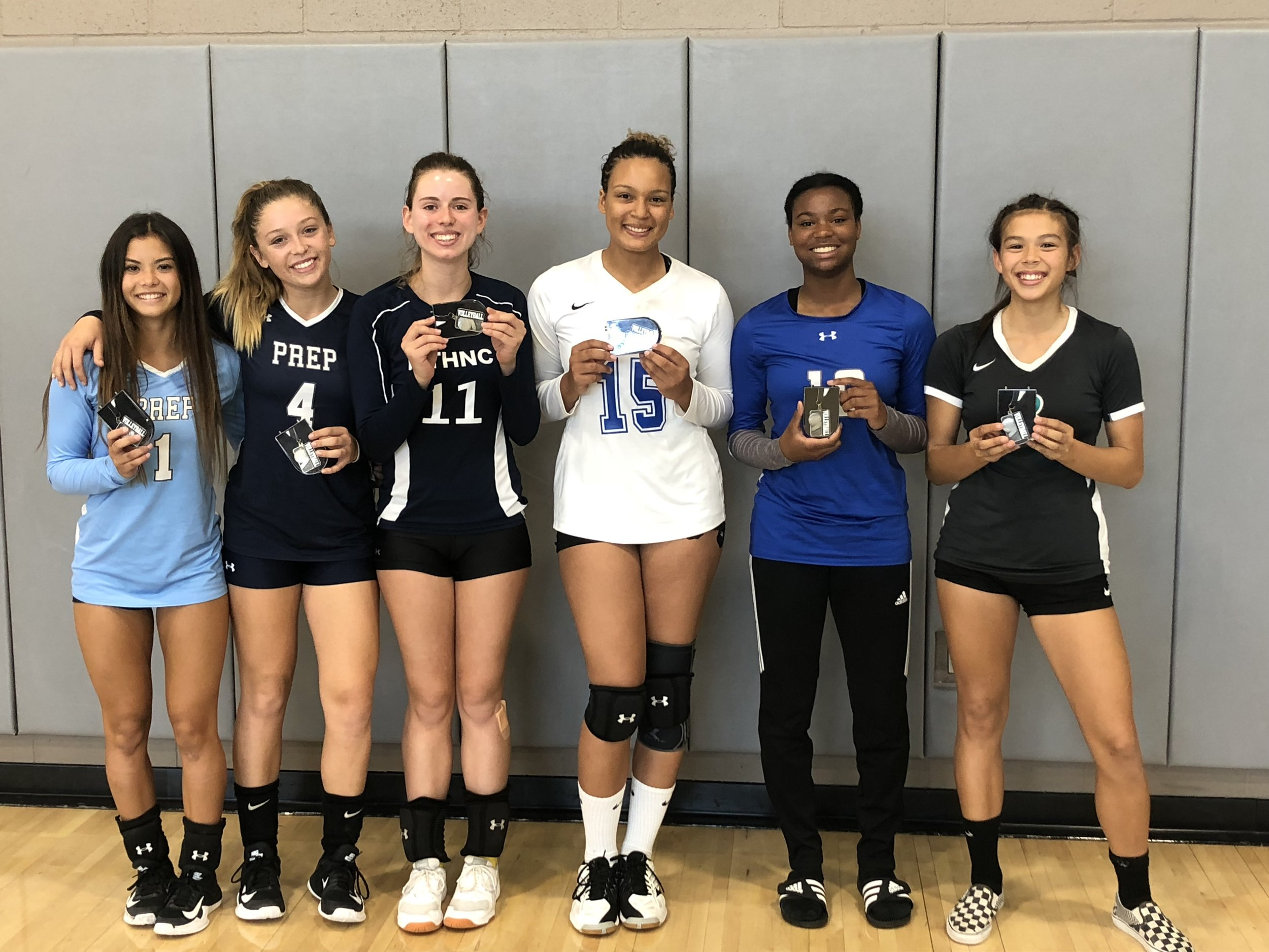 Najia Lamb is selected to the All-Tournament team!