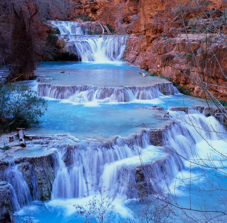 Beaver Falls, Havasupai Reservation, Supai, AZ
