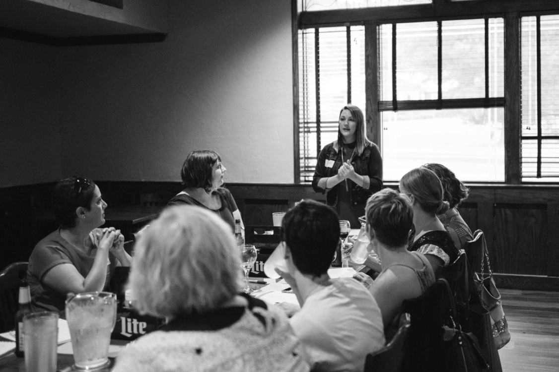 i was honored to present this topic to the iheartmarketing group over the summer of 2016. nineteen women attended the event, looking to learn how to improve their business. what an amazing experience!