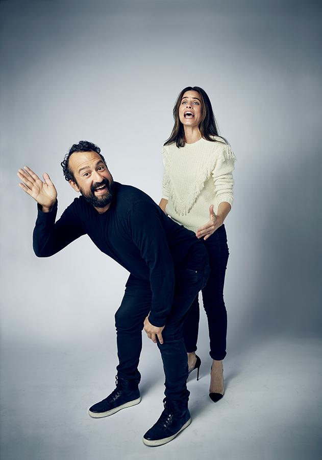 Steve Zissis + Amanda Peet