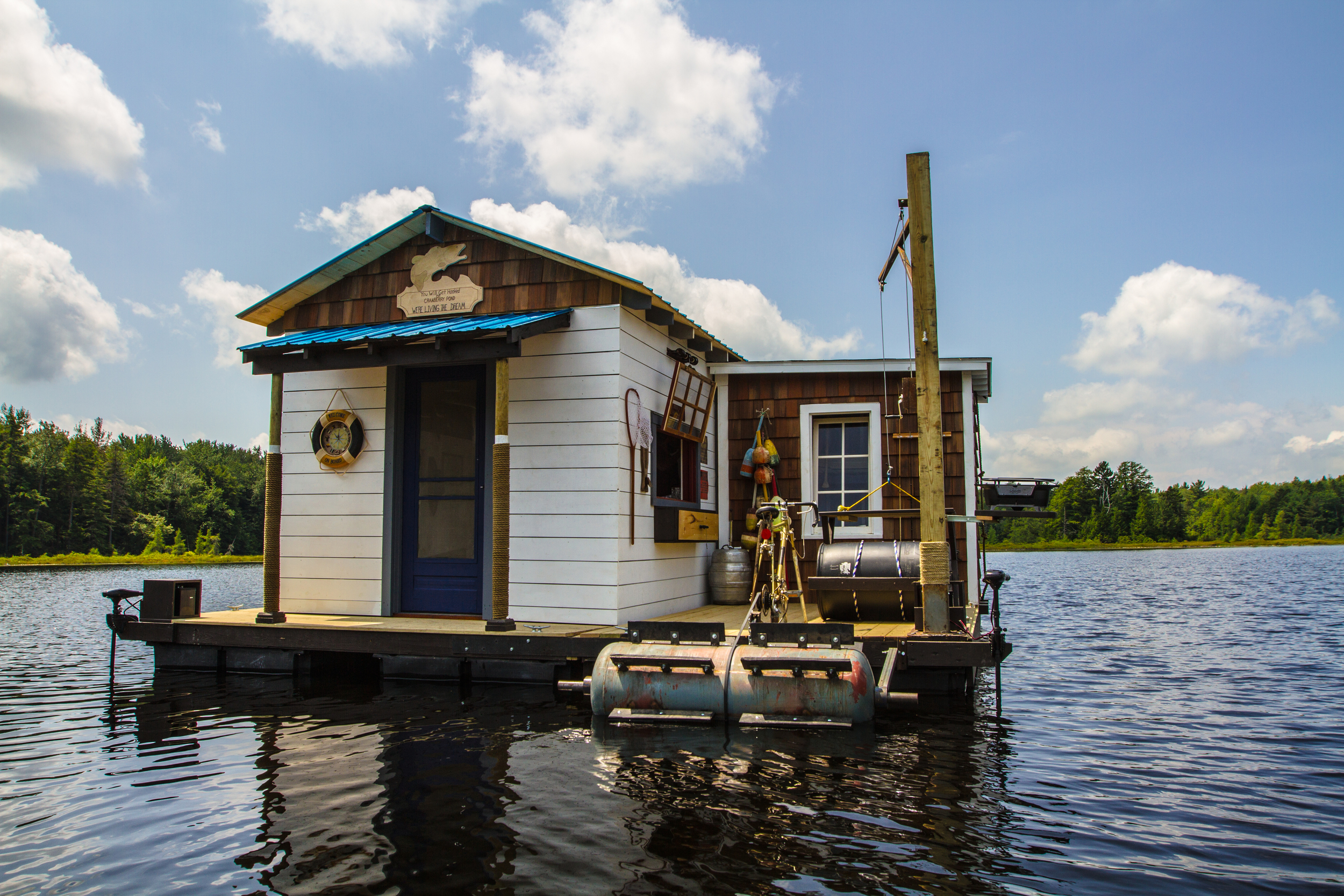 """""""Floating Cabin,"""" for Building Wild, Season 2"""