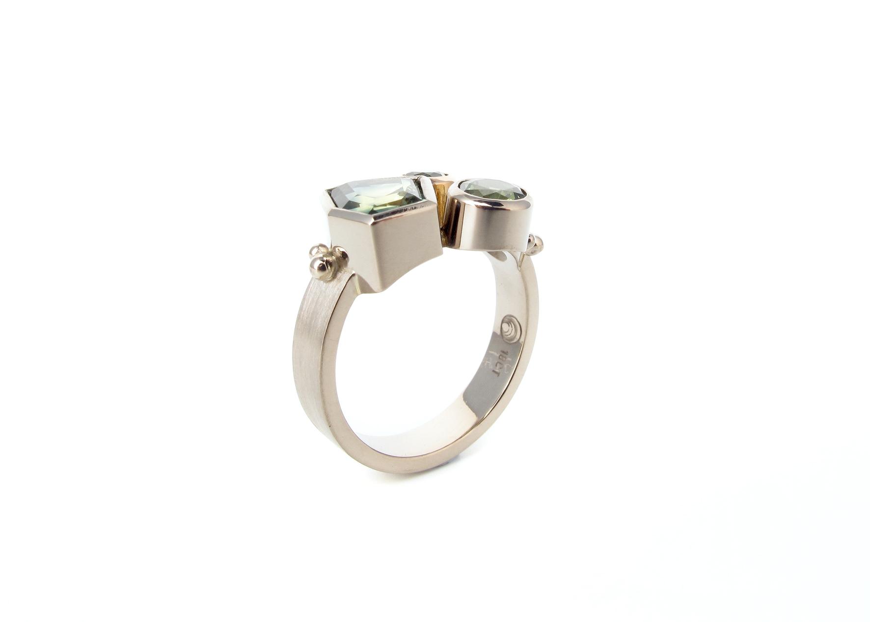 australian sapphire cluster white rose gold ring 4.jpg