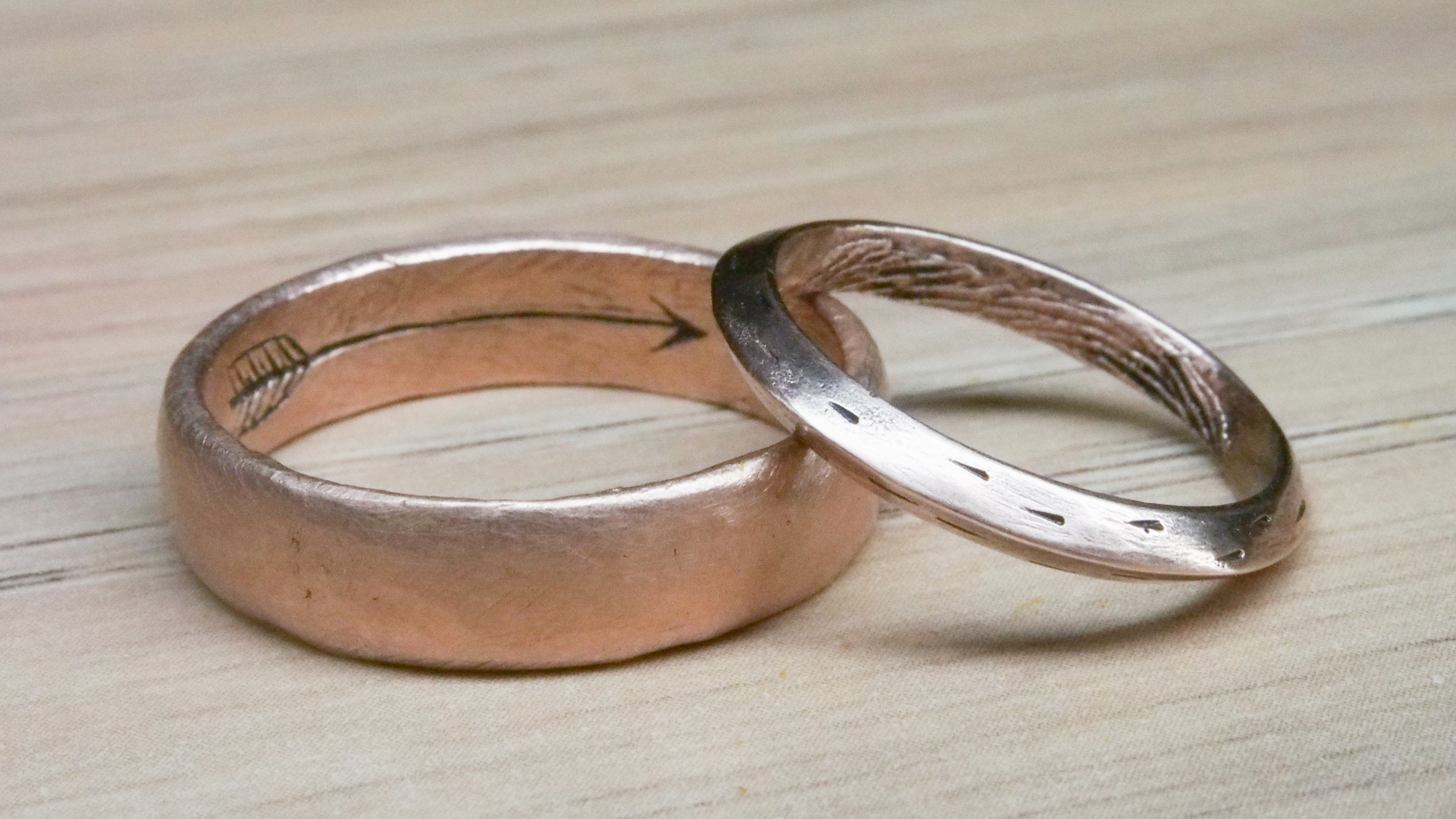 Wedding Bands for Chris and Stacia