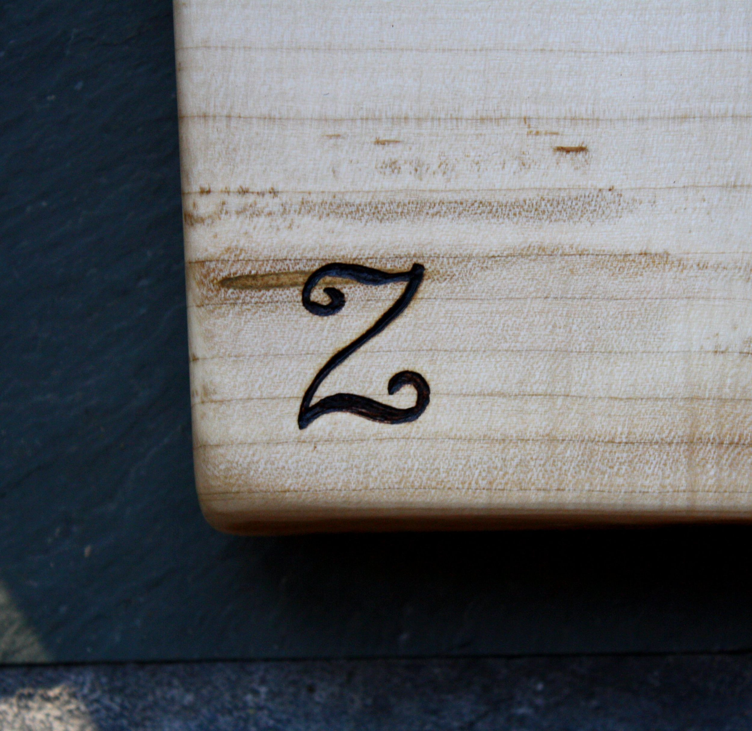 255 Z Initial on Maple