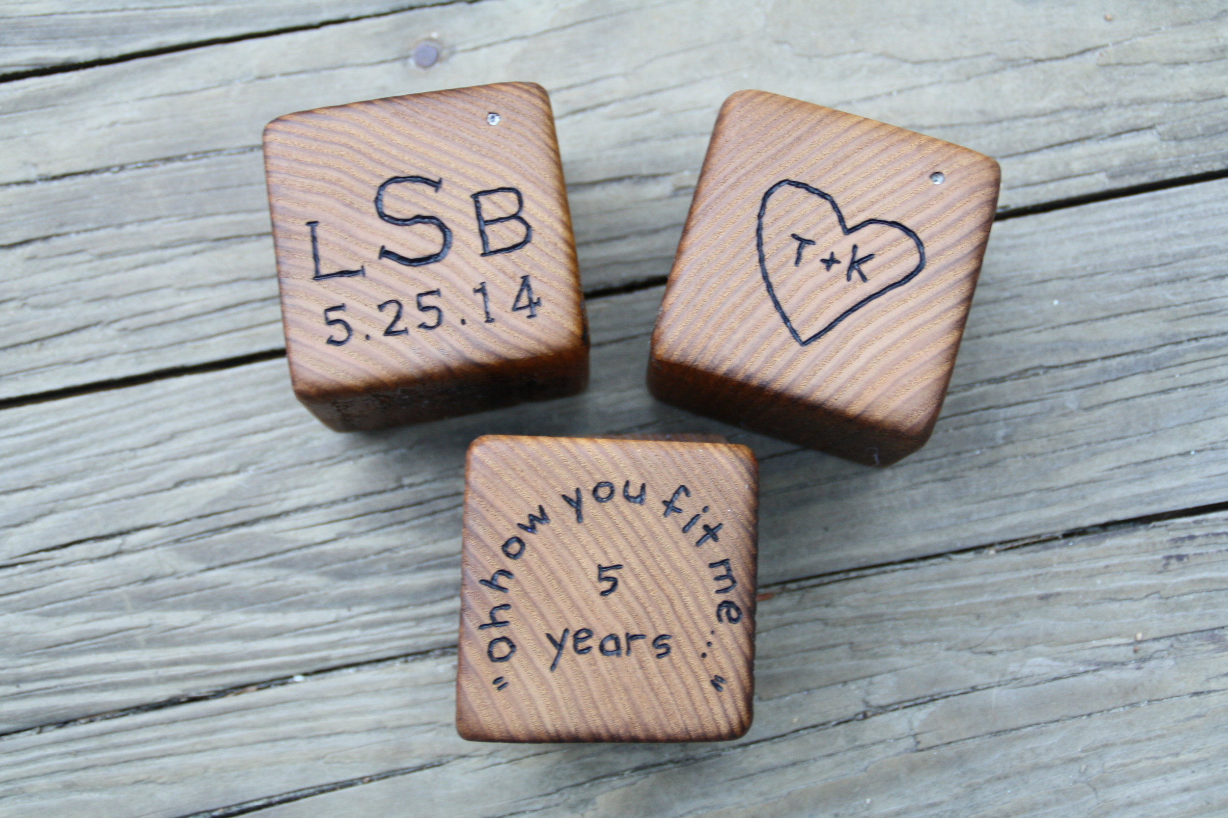 Personalized Ring Boxes