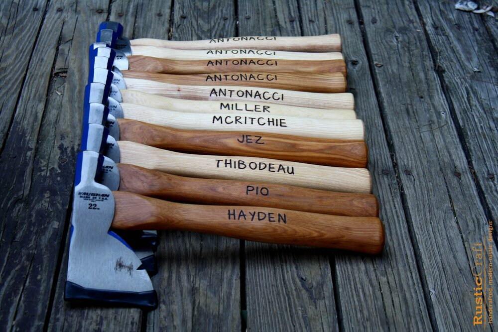 Quality Axes Hatchet Axe American Made Mans Gift Wedding Gift Hatchet -Christmas Gift- Fathers Gift-Groomsmen and Husband Gift