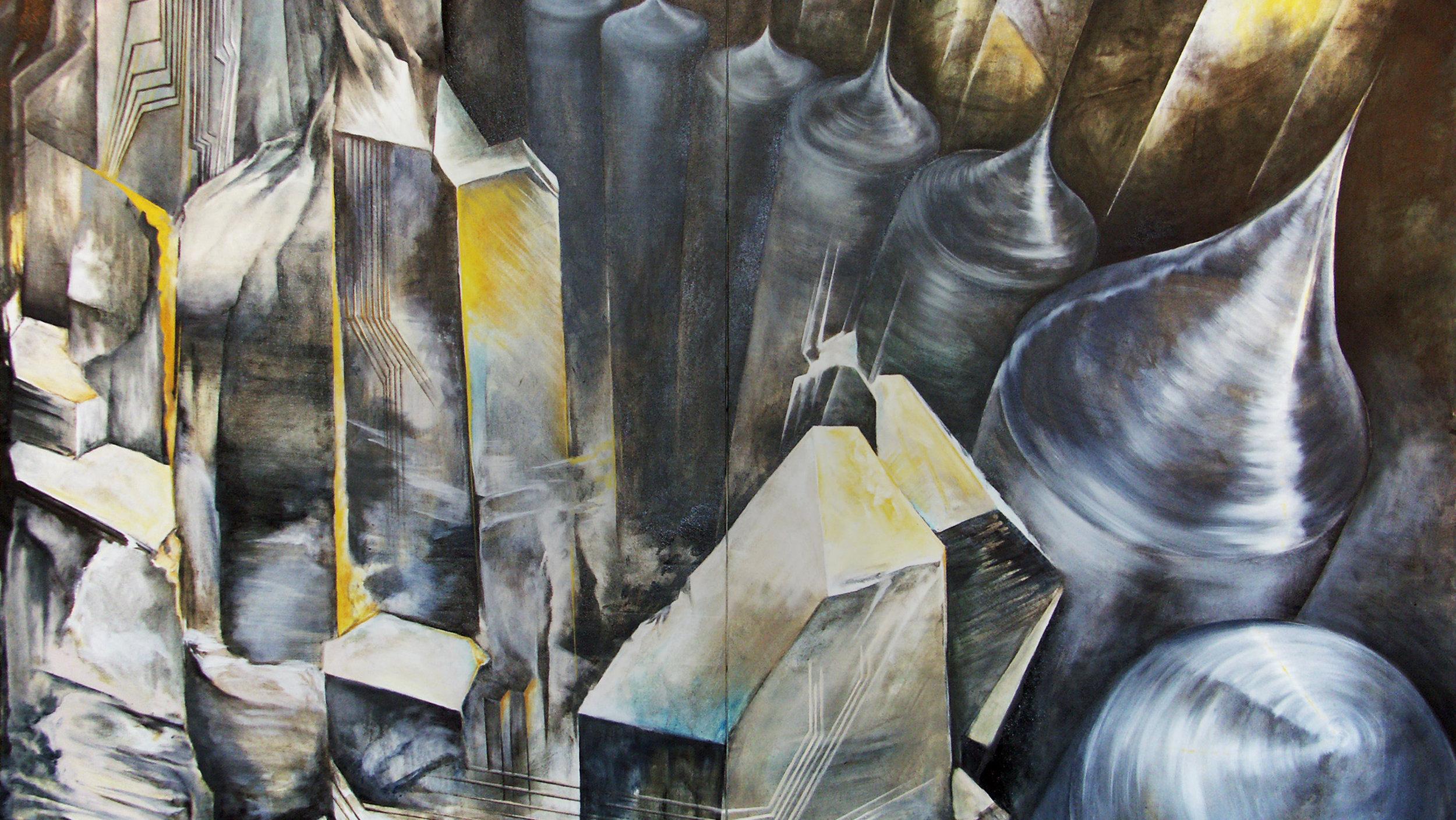 Hemlock Semiconductor - Bespoke Paintings