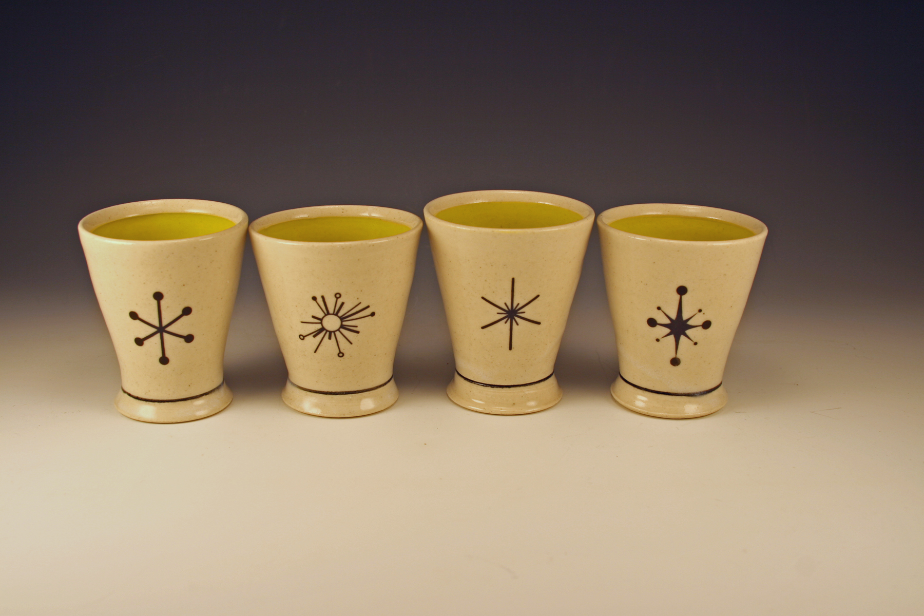 Four-star toasting cups