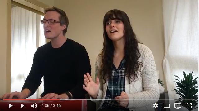 Eric & Monique singing