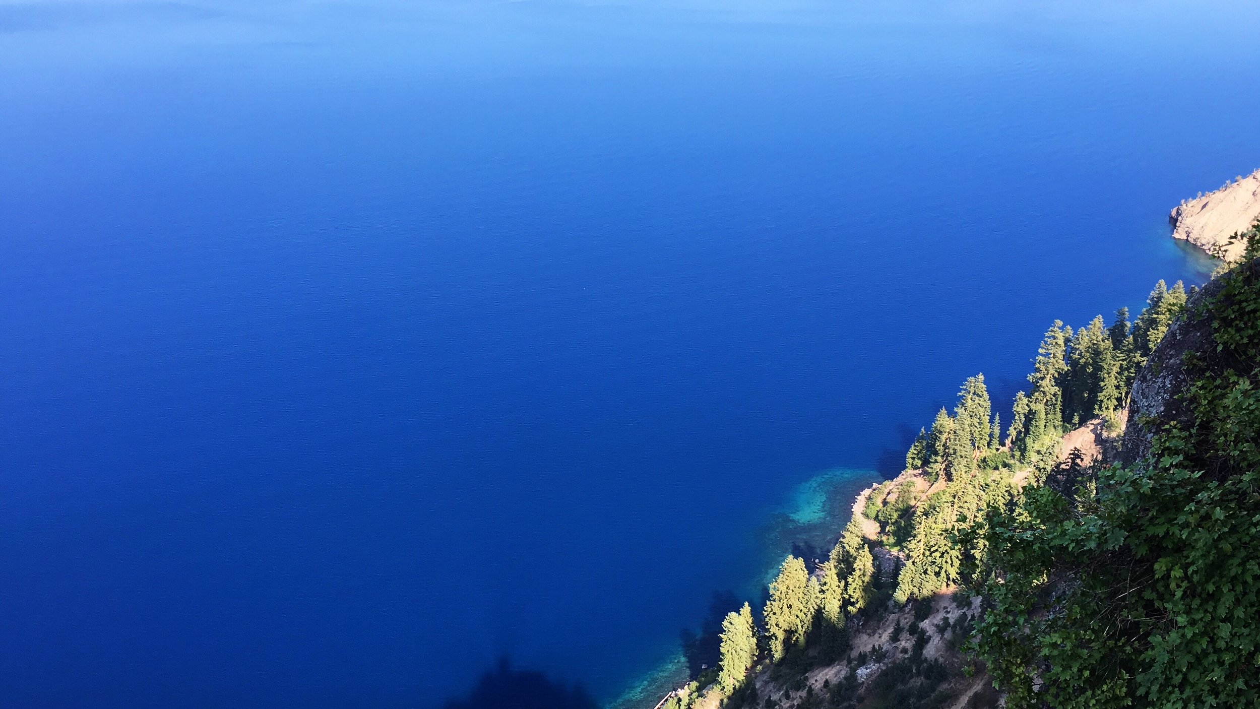 Unbelievably blue - Crater Lake