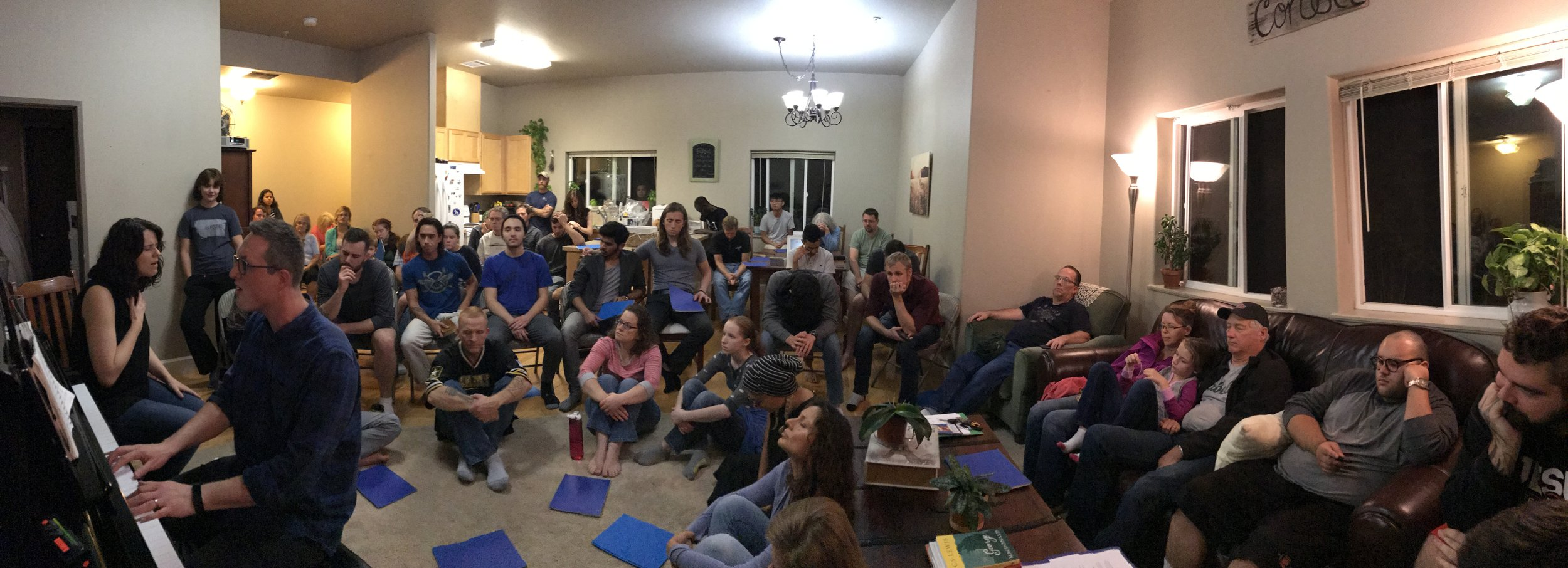 House Concert at ARISE / Light Bearers campus in USA