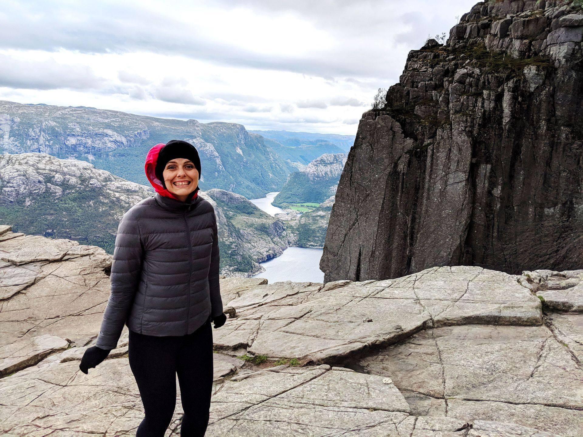 Preikestolen Pulpit Rock Facing Fears