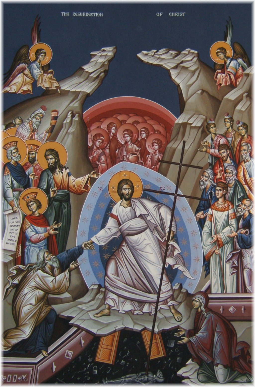 Eastern Orthodox Icon of the Resurrection