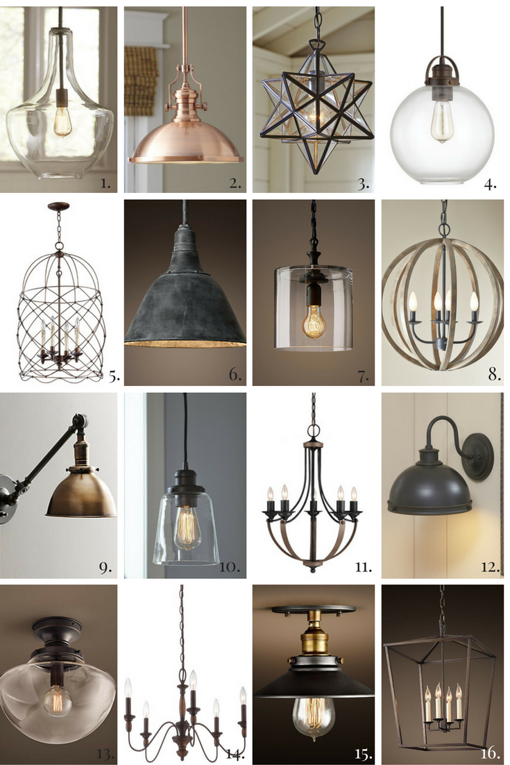 16 Perfect Fixer Upper Farmhouse Style Lights For Your Home