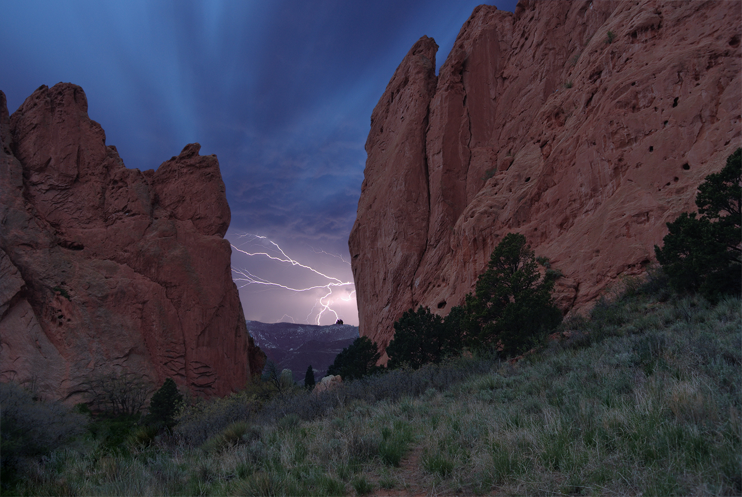 Garden of the Gods was ridiculously beautiful, do stop by if you happen to be in Colorado