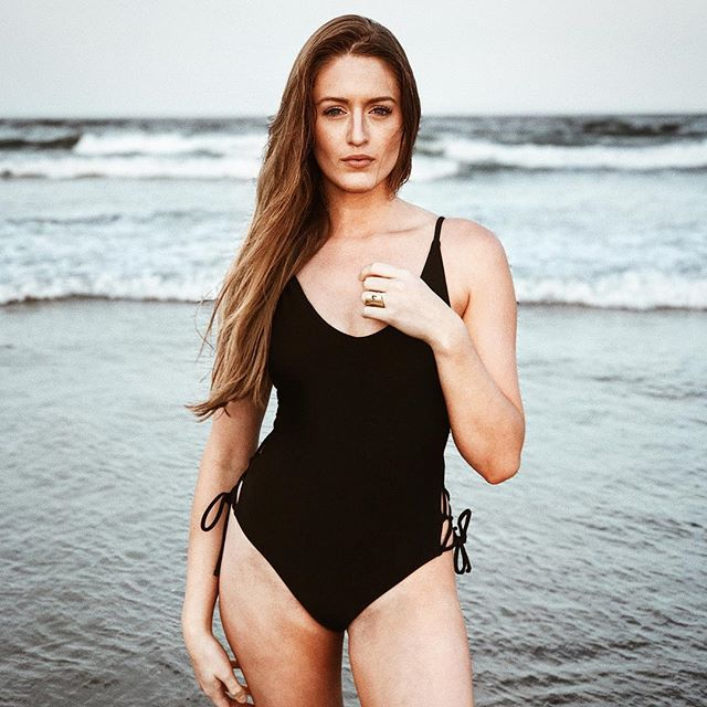Ladies and gentlemen I present the best photo I've ever taken on an iPhone. With @katieraeliston . . . .  #beach #model #girl #bikini #onepiece #ocean #summer #portrait #iphone #iphoneonly #blond