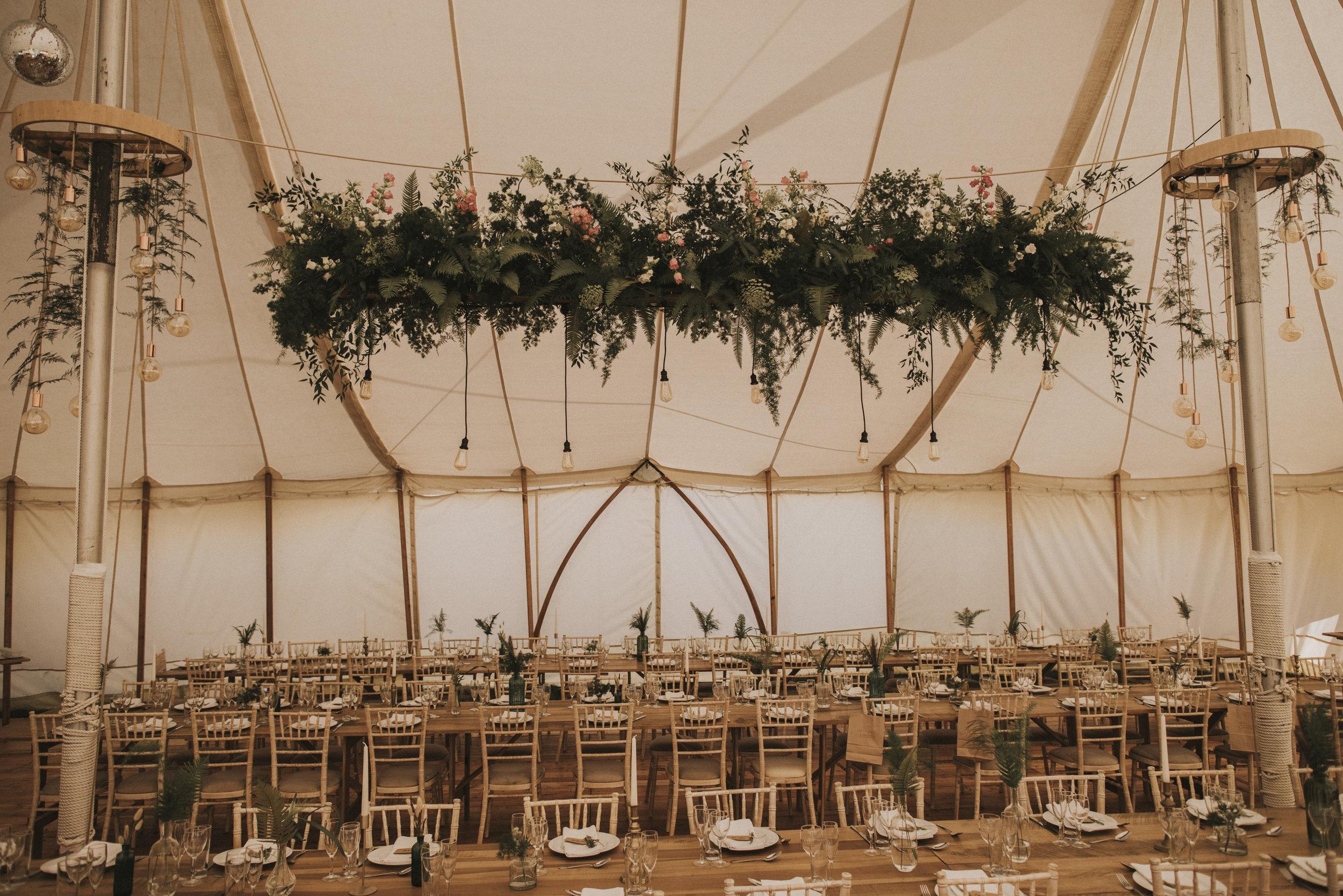 wedding festival tent