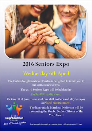 Dubbo Seniors Expo Information