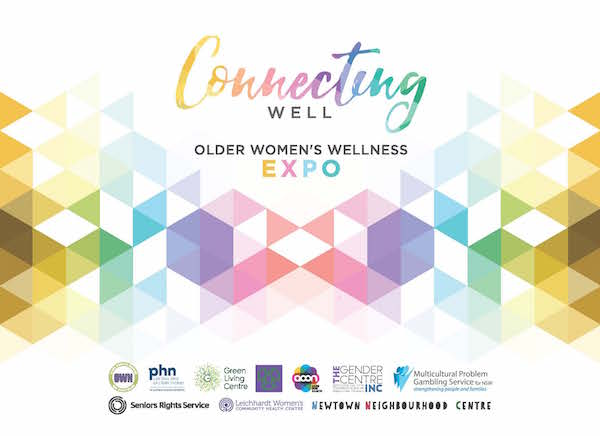 Connecting Well - Older Women's Wellness Expo Information